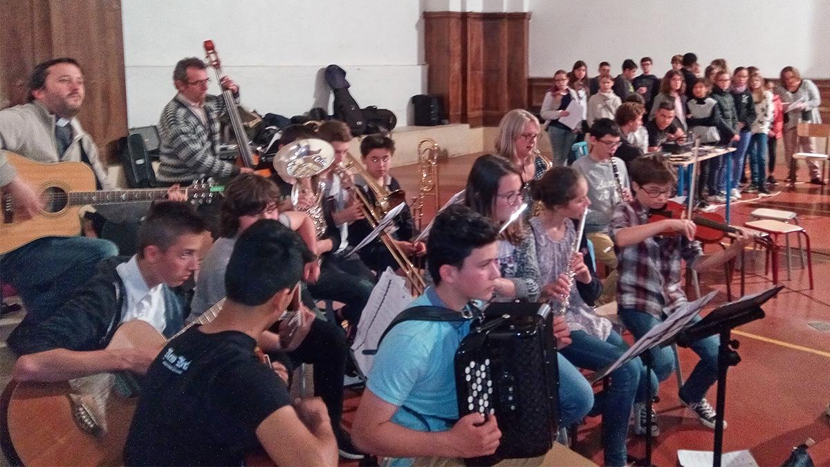Les musiciens !