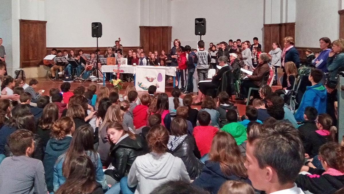 L'assemblée : interventions des élèves !